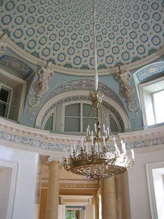 Latvian castle interior