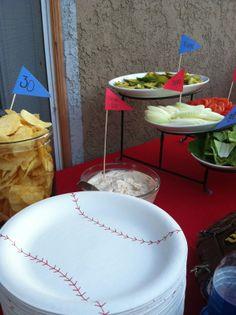 To show you love...: Sandlot Theme Birthday//handmade baseball plates