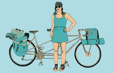 Posts about bicycle culture written by swiftindustries Tandem Bicycle, Bike, Biking With Dog, Cycling, Shopping, Bicycles, Competition, January, Artwork