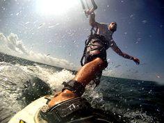 Kirk Hollis kitesurfs from South Africa to Kenya