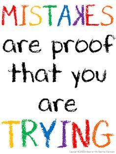 Set your students up for success with some inspirational quotes! Love this - Mis. Set your students up for success with some inspirational quotes! Love this - Mistakes are proof that you are trying! Motivational Quotes For Kids, Inspirational Quotes For Students, Positive Quotes, Encouraging Quotes For Kids, Quotes Kids, Educational Quotes Inspirational, Quotes Children, Sayings For Kids, Good Sayings About Life