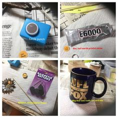 Hometalk said...hey...do something with an old mug that you have. So I went to Michaels and spent $6 on some odds and ends.  Most of the stuff I already had.  I…
