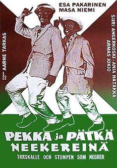 Pekka ja Pätkä neekerinä 1960