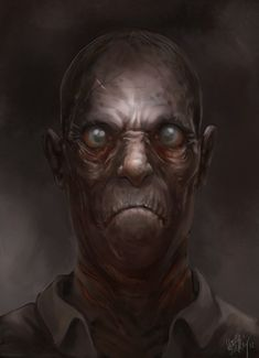 My second Picture with a Lovecraftian Topic, this time a simple Portrait of my interpretation of the famous Innsmouth Look. Innsmouth Look Arte Horror, Horror Art, Lovecraft Cthulhu, Hp Lovecraft, Aliens, Yog Sothoth, Call Of Cthulhu Rpg, Lovecraftian Horror, Westerns