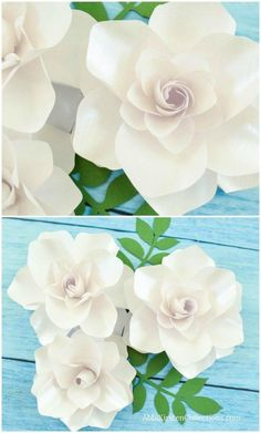 How to DIY paper gardenia flowers. How to DIY paper gardenia flowers. How to DIY paper gardenia flowers. How to DIY paper gardenia flowers. Mason Jar Diy, Mason Jar Crafts, Handmade Flowers, Diy Flowers, Flower Diy, Fabric Flowers, 3d Templates, Diy And Crafts, Paper Crafts