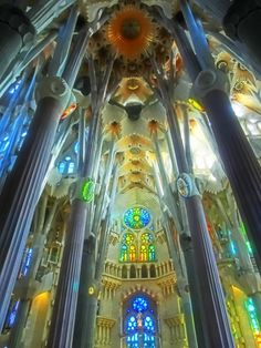 Sagrada Família - I've been here and seen the ongoing construction. I need to go back in 10 or 15 years to see how far they've gotten. One of the most awe inspiring buildings I've ever seen.