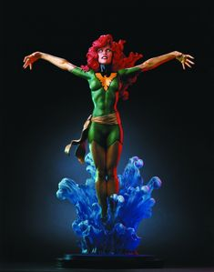 Bowen Designs Phoenix full size Statue from the Classic X-Men Comics Jean Grey 3d Figures, Action Figures, Action Toys, Comic Character, Character Design, Marvel Statues, Jean Grey Phoenix, Greek Statues, Poses References