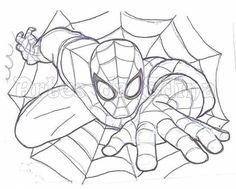 Risco do Homem Aranha Painting Words, Fabric Painting, Alfabeto Disney, Ninjago Coloring Pages, Spiderman Coloring, Painting Templates, Nz Art, Drawing For Kids, Drawing Pics