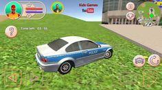 Heroes de la cuidad, carros policia, juegos y videos para niños HD 2016