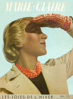 couverture vintage magasine marie claire 09 27 couvertures du magazine Marie Claire divers design