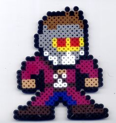 Star-Lord Guardians of the Galaxy perler beads by Raurus