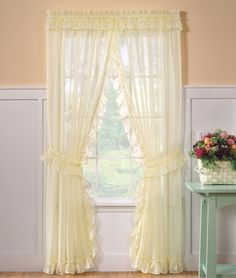 1000 Ideas About Priscilla Curtains On Pinterest Country Curtains Ruffled Curtains And Curtains