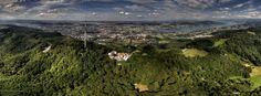 #Üetliberg Mountain in #Zurich, #Switzerland  #ZurichTravel #SwitzerlandTravel #traveldiary #dronephotography #thedronetravel