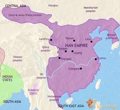 Ancient China Interactive animated history map from TimeMaps (Free version)
