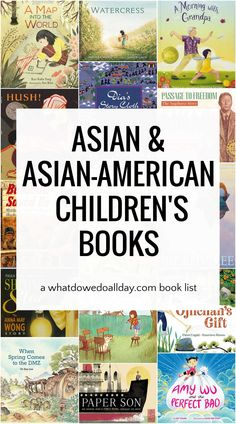 Children's books with Asian and Asian-American characters. These diverse books are #OwnVoices selections that are perfect to add you your diverse bookshelf. Best Toddler Books, Best Children Books, Childrens Books, Book Suggestions, Book Recommendations, Read Aloud Books, Award Winning Books, American Children, Asian American