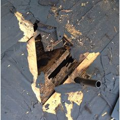 Leaky Plumbing Pipe Vent Boots cause Wood Rot on Roof Decks | Wood ...