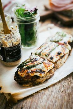 You Have Meals Poisoning More Normally Than You're Thinking That Croque Monsieur. I Love Food, Good Food, Yummy Food, Sandwiches, Great Recipes, Favorite Recipes, Gula, Food Inspiration, The Best