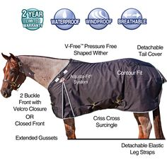StormShield® TEKNO-FLEECE® 1200D Fitted V-Free™ Turnouts in Fitted V-Free
