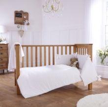 Clair de Lune Stardust 3 Piece Cot Bed Quilt /& Bumper Bedding Bale
