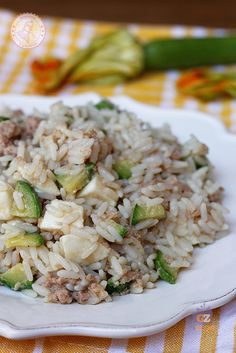 Rice Recipes, Salad Recipes, Cooking Recipes, Healthy Drinks, Healthy Recipes, Fat Foods, Food For A Crowd, Rice Dishes, Light Recipes
