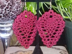 Crocheted Pineapple Earrings. $12.00, via Etsy.