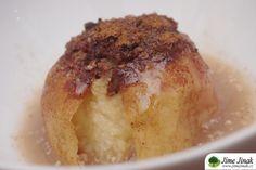 Pečené skořicové jablko » Jíme Jinak Baked Potato, Muffin, Potatoes, Pudding, Sugar, Baking, Breakfast, Ethnic Recipes, Fit