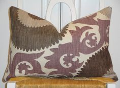 Beautiful Decorative Pillow Cover  12x18  by TurquoiseTumbleweed, $38.00 and 2 euro shams