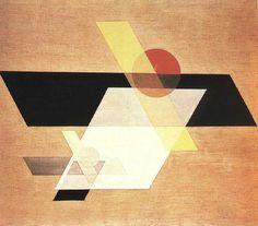 Composition A II, László Moholy-Nagy (1924)