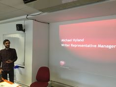 Michael from PRS shows us how to join up! 29th april 2015