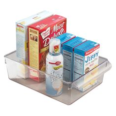 Have to have it. Inter Design Linus Pantry Organizer Pullz 11.5L x 8W x 3.5H in. - $19.99 @hayneedle