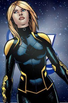 The only shot where I like New 52 Black Canary's uniform.