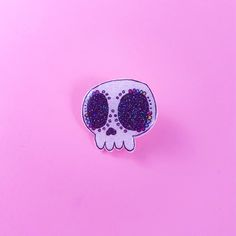 LumiWAU Halloween 2016 Limited Edition novelty brooch Halloween 2016, Sugar Skull, Brooch, Accessories, Sugar Skulls, Brooches, Sugar Scull, Candy Skulls, Jewelry Accessories