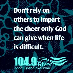 River Positive Thought....