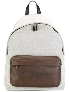 26df1a2117c54 Givenchy sac à dos à logo embossé Lederrucksack
