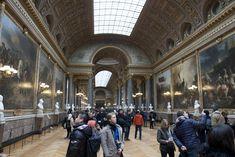 Gelerij der veldslagen in het kasteel van Versailles Versailles, Street View, Vans, Ile De France, Van