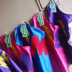 I just really wanna wear a super Grover cape! Sesame Street Party: Super Grover capes: Personalized for each child 2nd Birthday Parties, It's Your Birthday, Birthday Ideas, Seasame Street Party, Sesame Street Birthday Invitations, Capes, First Birthdays, Party Time, Party Supplies