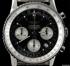 Breitling Navitimer Chronographe SS Black & White Dial Stortford Bishop, Royaume-Uni - JamesEdition.com