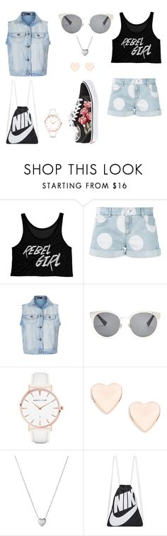 """rebel girl"" by maja-zmeskalova on Polyvore featuring STELLA McCARTNEY, Ally Fashion, Christian Dior, Abbott Lyon, Ted Baker, Links of London, NIKE and Vans"