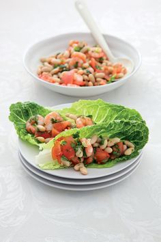 Shrimp and Cannellini Bean Salad