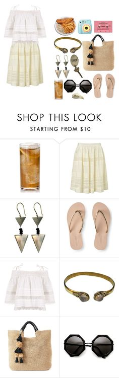 """""""Untitled #2841"""" by kitten89 ❤ liked on Polyvore featuring Somerset by Alice Temperley, Aéropostale, SONOMA Goods for Life, Polaroid and CASSETTE"""