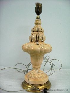 lampara vintage ceramica bondia manises años 50, 60.