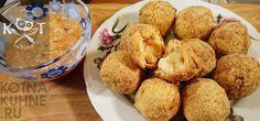★ Круггетсы с сыром (рецепт на сковороде, во фритюре, в духовке, в мультиварке) ★ #курица #сыр #яйцо #мука Muffin, Breakfast, Food, Morning Coffee, Essen, Muffins, Meals, Cupcakes, Yemek