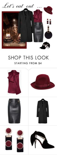 """""""Just Starting Out"""" by jjsunnygirl ❤ liked on Polyvore featuring Ted Baker, Borsalino, Moschino, Emilio Pucci, Christian Louboutin and Tara Zadeh"""
