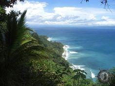 the coast of the osa peninsula in southern costa rica