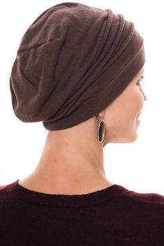 Fleece Chamois Slouchy Cap: Snood Head Covering - Hat For Women - Ideas of Hat For Women - Micro Fleece Slouchy Cap: Snood Head Covering Hat for Women Scarves For Cancer Patients, Hair Wrap Scarf, Slouchy Beanie Hats, Hair Turban, Cute Hats, Scarf Hairstyles, Hats For Women, Women Hat, Womens Scarves