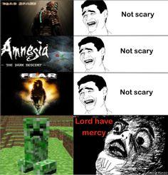 Minecraft terror