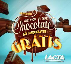 "Promo Lacta ""Melhor que Chocolate..."" on Behance"