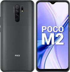 6.53-Inch Xiaomi POCO M2 4G Smartphone:- RAM: 6GB   Memory: 64GB   MicroSD-Card Support: Up to 512GB   OTG   Dedicated Memory Slot   13MP+8MP+5MP+2MP (f/2.2)   LED-Flash   Max FHD Recording @ 30 fps   5000-mAh Li-Po   18W Type-C Fast Charger Top Smartphones, Best Smartphone, Latest Gadgets, Slot, Charger, Samsung, Marketing, Type