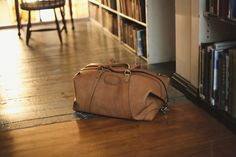 Korchmar-TWAIN LEATHER DUFFEL