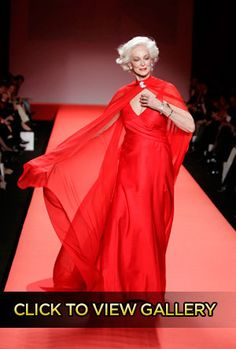 Carmen Dell'Orefice, 81, is Fashion Week's Oldest Runway Model. She's Also the Best. | Style Crush - Yahoo! Shine